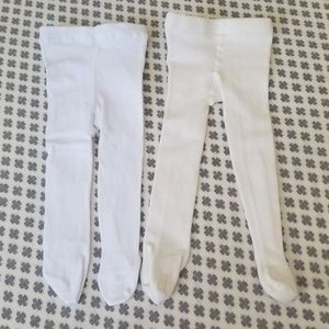 Other - Two Pairs of 12M Infant Tights